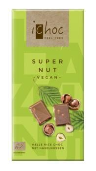 Ichoc Super Nut chokladkaka 80 gram