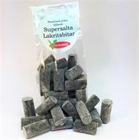 Supersalta lakritsbitar
