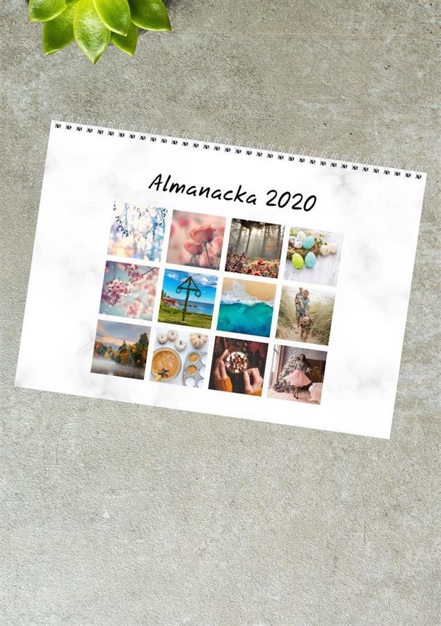 Fotokalender A3 uppslag