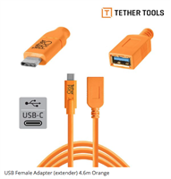 Tether Tools USB-C til USB3.0 (skjøt)  4.6m