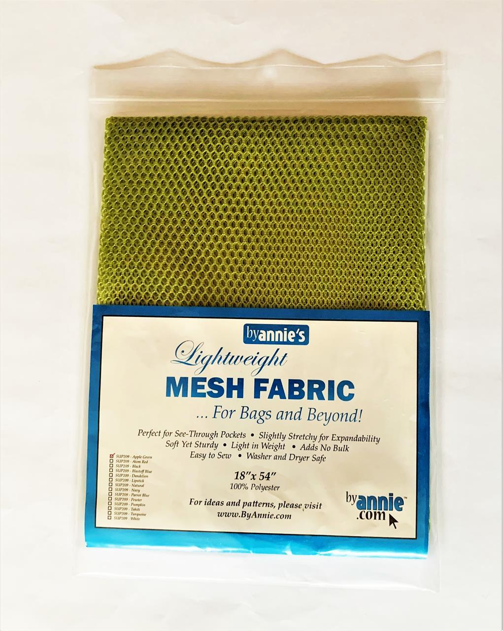 Mesh, applegreen