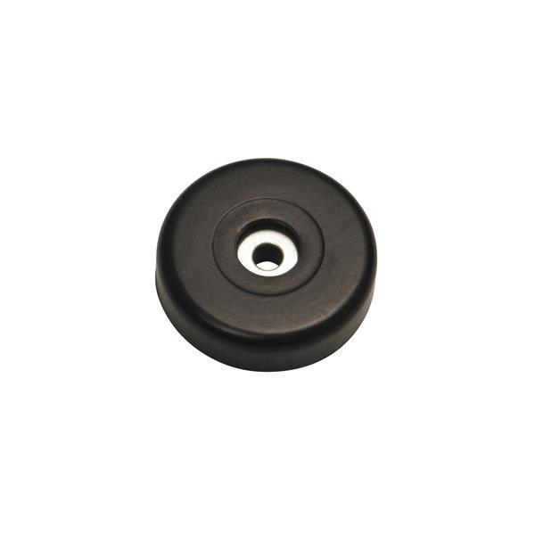 Bottenknopp gummi m stålbricka