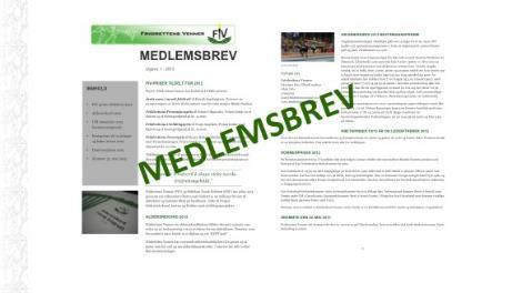 Medlemsbrev 2013 nr. 1