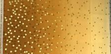 Gyllen metallic prikker og fargegradering