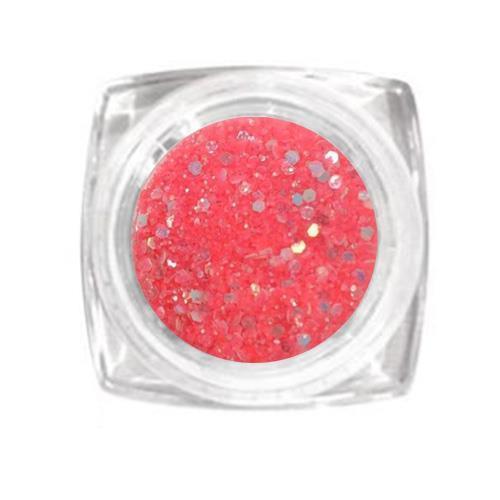 KN- Jar Glitter DEEP APRICOT