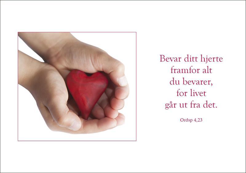 Bibelkort - Bevar ditt hjerte