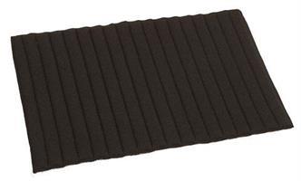 Benpad Kerbl 45x29cm Svart 2-Pack