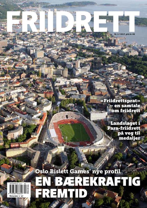 Magasinet Friidrett - nr. 2 / 2017