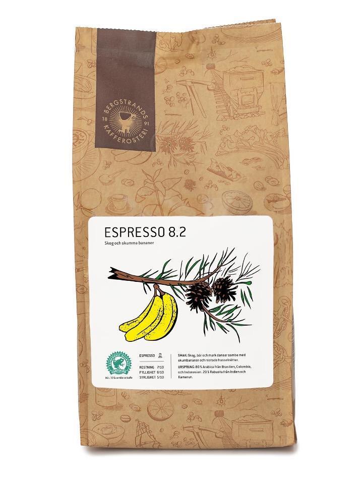 Bergstrands Espresso 8.2