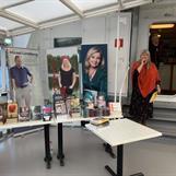 Magdalena Desén, Kramfors Bokhandel, hälsar välkommen