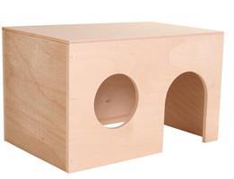 Marsvinshus plywood 24*15*15cm