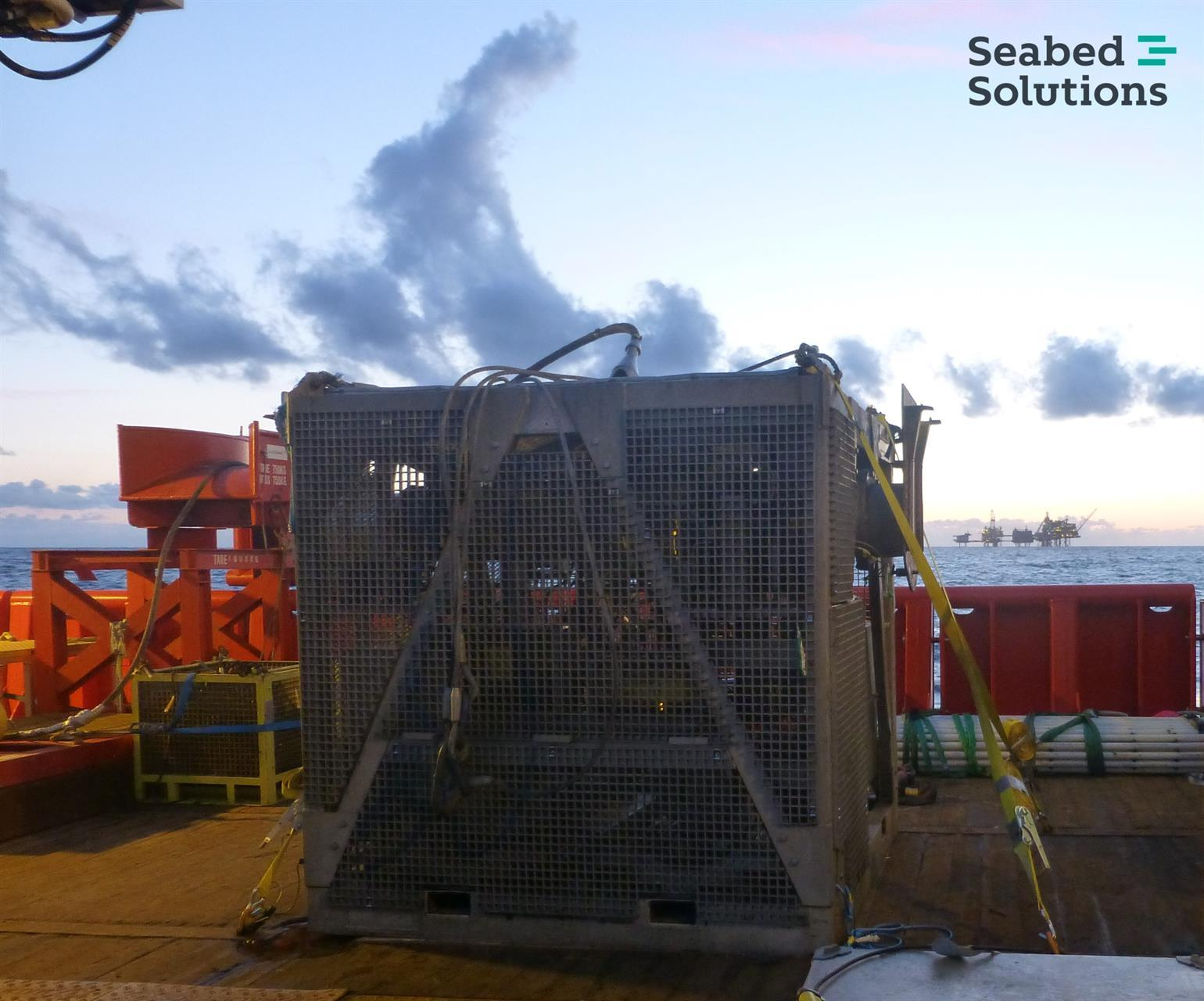 Seabed Solutions GTO XL subsea dredge