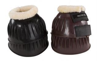 Boots PVC med pälskant