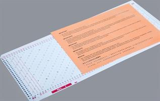 Standard hullkortpakke LC2