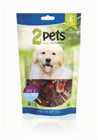 2pets Dogsnack Duck/Fish Cubes 100g