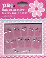 DL- Sticker rhinestone pink
