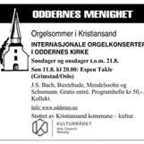 Orgelsommer i Kristiansand