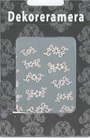 DM- Sticker Flower white