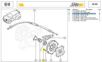 VIS CHC M8X125  LG:40 CL:12.9 - CHS Bolt M8x125-40 CL 12.9