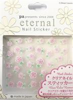 DL- Sticker Flower pink rose