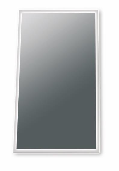 Spegel Med Väggbelysning (Frostad sida)