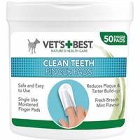 Vets Best Clean Fingertuta t tandvård 50-p