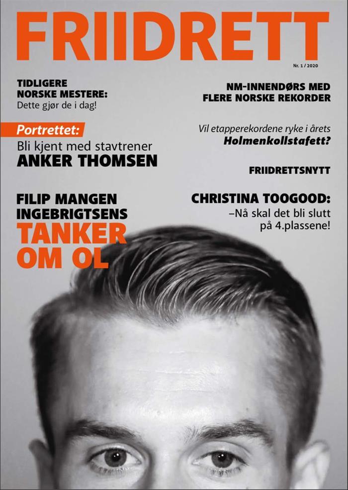Magasinet Friidrett - utgave 1/2020