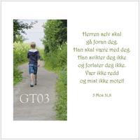 Postkort 5 Mos 31,8