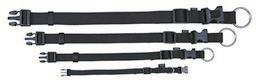 Halsbånd Classic 30-45cm sort
