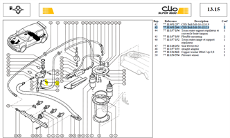 VIS CHCM6-100 LG25 CL10.9 - CHS Bolt M6-30 cl:12.9