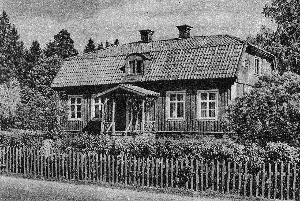 Snickarkrogen i Vårby, 1951. Foto: HAns Olssons arkiv