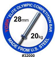 York US FWB 32000 vektløfting konkurransestang 20k