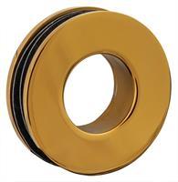 RoyalBath Dubbelsidigt Grepp Bl. Mässing / Guld, Diam. 52 mm