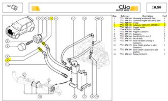 RACCORD ENTR MOD.12/M.20 - Adapter M20x150 / DASH 12