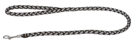 Hundkoppel Maxi Safe Reflex/Svart 12mmx100cm