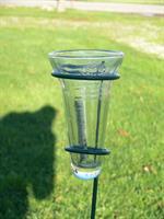 Regnmätare i glas