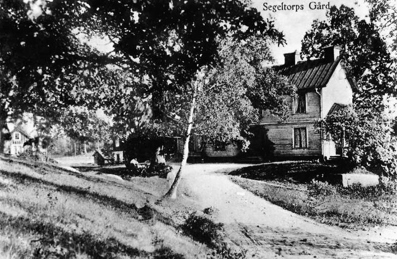 Segeltorps Gård före 1963. Foto: Hans Olssons arkiv