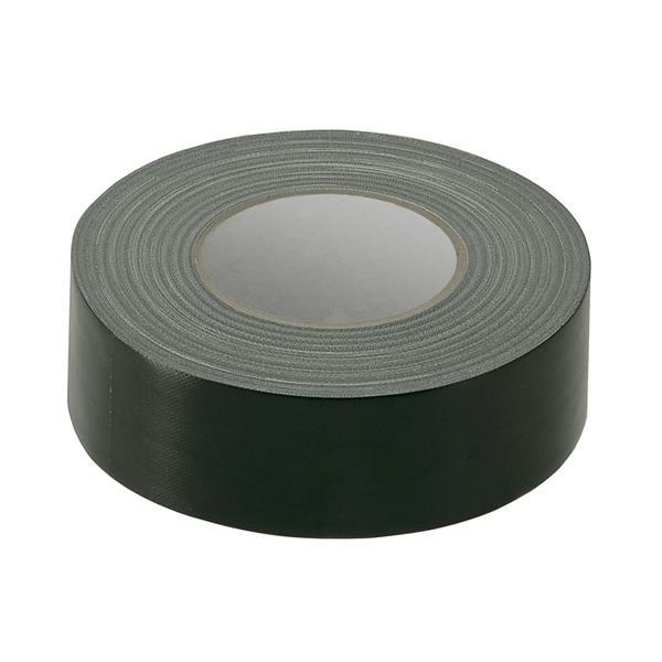 Gaffatejp 50m/rle, svart