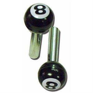 8-ball dörrknoppar