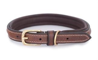 Hundhalsband Arezzo Brun 30cm