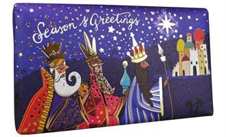 Festive Wrapped SoapThree Kings  200gr