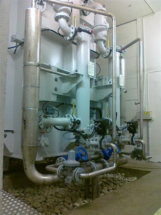 Kjølevannanlegg, Bagn kraftverk