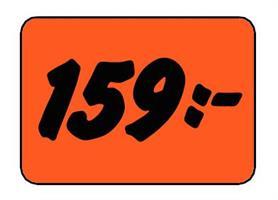 Etikett 159:- 50x30mm