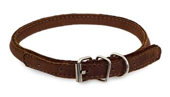 Collar rundsydd halsbånd, 33-41cm
