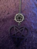 Pentagram sydän