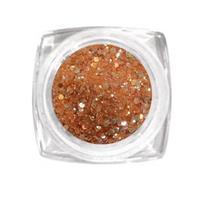 KN- Jar Glitter dark APRICOT