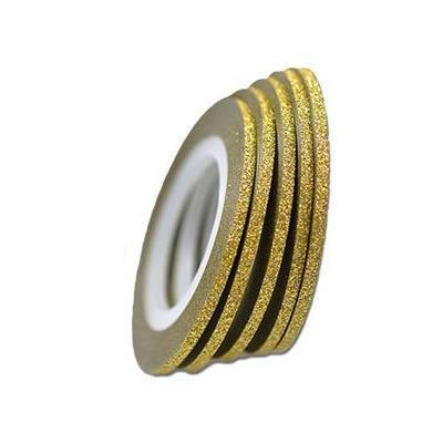 KN- Glitter Stripe  Gold