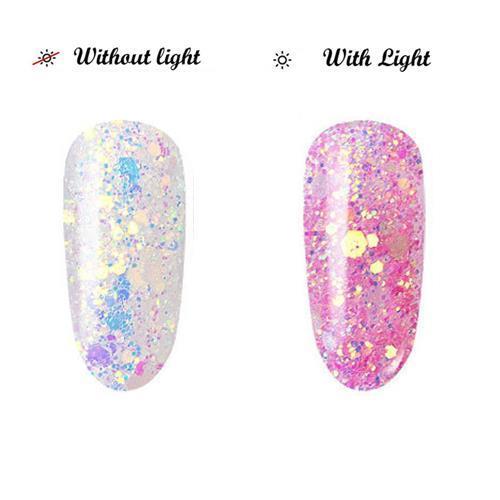 BL- Light change glitter #4