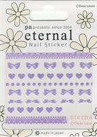 DL- Sticker Bow purple