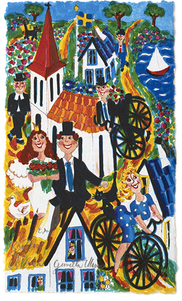 Bröllop på Österlen